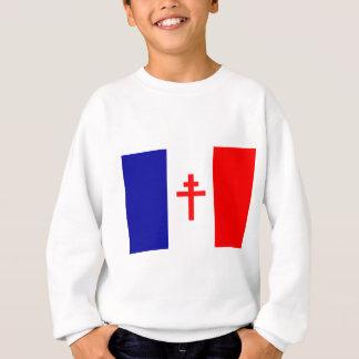 Sweatshirt Drapeau français libre de forces