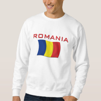 Sweatshirt Drapeau roumain (rouge)