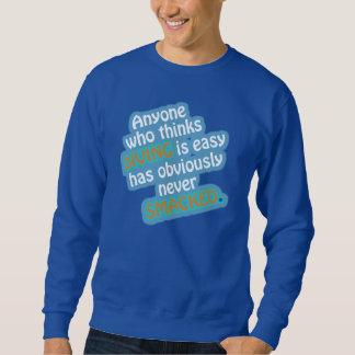 Sweatshirt drôle de citation de plongée