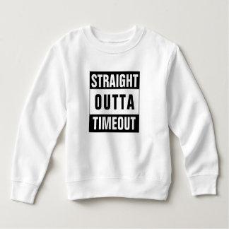 Sweatshirt drôle de temps mort d'enfant en bas