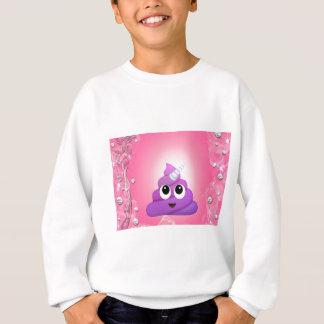 Sweatshirt Dunette magique personnalisée Emoji de licorne