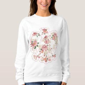Sweatshirt Eagle polonais floral