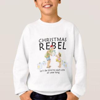 Sweatshirt Écartez l'esprit de rebelle de Noël !