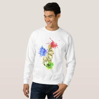 Sweatshirt Éclaboussure de lapin