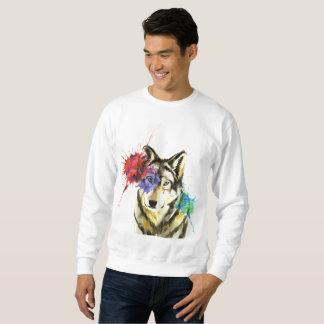 Sweatshirt Éclaboussure de loup