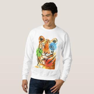 Sweatshirt Éclaboussure de tigre