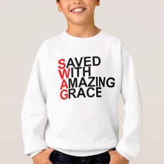 Sweatshirt Économisé avec stupéfier (SWAG) Grace.png