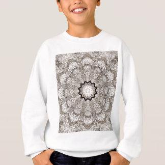Sweatshirt Écorce d'arbre de kaléidoscope de Brown
