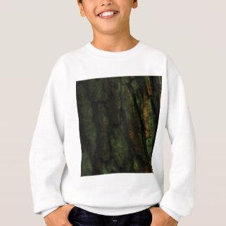 Sweatshirt écorce d'arbre verte