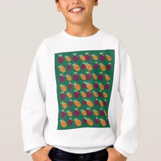 Sweatshirt Édition peinte à la main d'ananases de conception