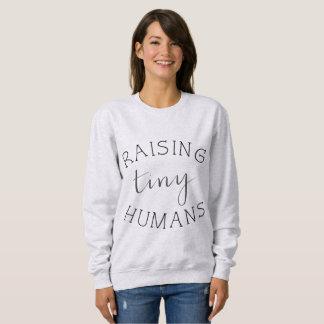 Sweatshirt Éducation des humains minuscules