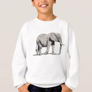Sweatshirt Éléphant majestueux