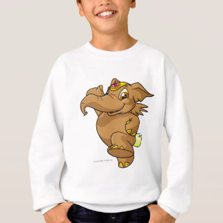 Sweatshirt Elephante Brown