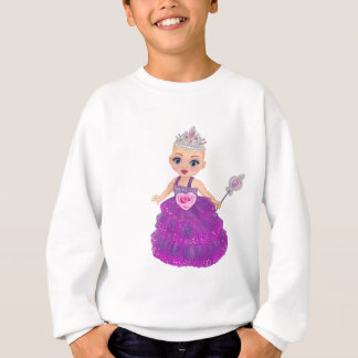 Sweatshirt Ella la princesse enchantée Who Are You ?