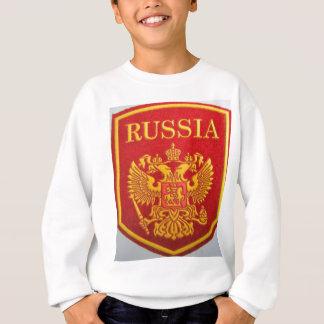 Sweatshirt emblème russe Georges et dragon