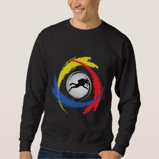 Sweatshirt Emblème tricolore de plongée à l'air