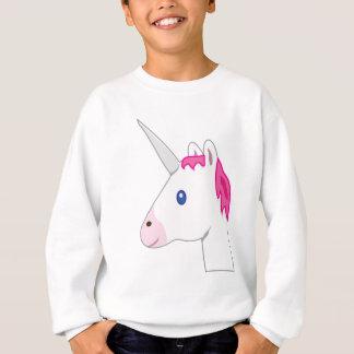Sweatshirt Emoji de licorne
