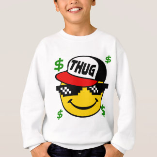 Sweatshirt Émoticône souriante de voyou