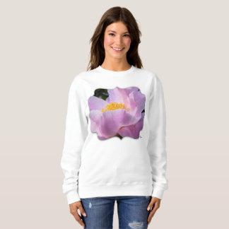 Sweatshirt en pastel de fleur