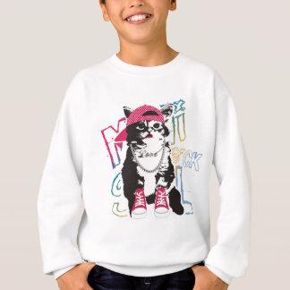 Sweatshirt Enfants géniaux de chat