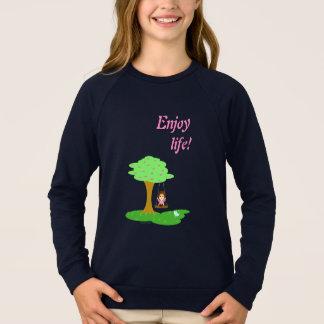 Sweatshirt Enjoy life !