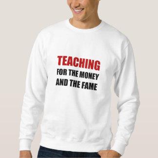 Sweatshirt Enseignement pour la renommée d'argent