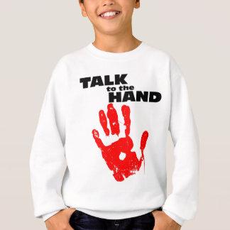 Sweatshirt Entretien à la main