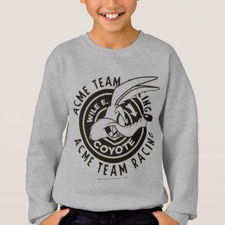 Sweatshirt Équipe B/W de emballage d'E. Coyote Acme de Wile