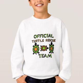 Sweatshirt Équipe de secours officielle 1 de tortue