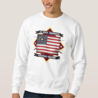 Sweatshirt ęr Infanterie du Minnesota