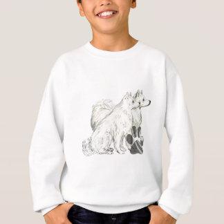 Sweatshirt Esquimaux et pawprints américains