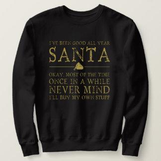 Sweatshirt Été bon toute l'année Père Noël, ne vous occupez