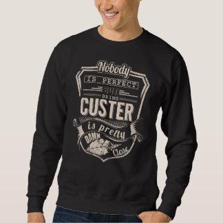 Sweatshirt Être CUSTER est joli. Anniversaire de cadeau