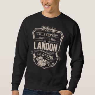 Sweatshirt Être LANDON est joli. Anniversaire de cadeau