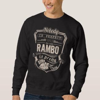 Sweatshirt Être RAMBO est joli. Anniversaire de cadeau