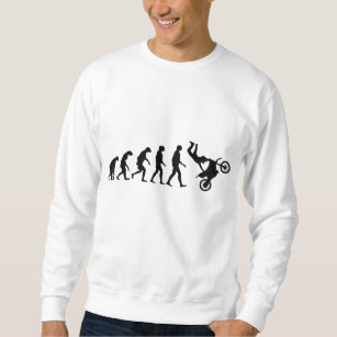 Sweatshirt Évolution de motocross