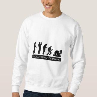 Sweatshirt Évolution du boire