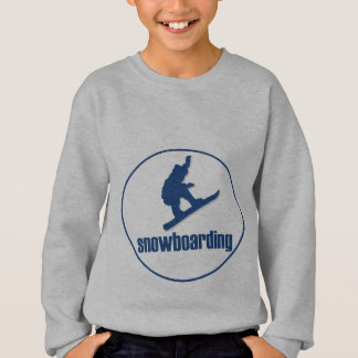 Sweatshirt Faire du surf des neiges
