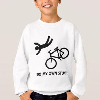 Sweatshirt Faites du vélo mes propres cascades