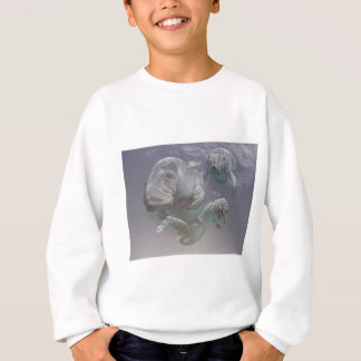 Sweatshirt Famille de lamantin