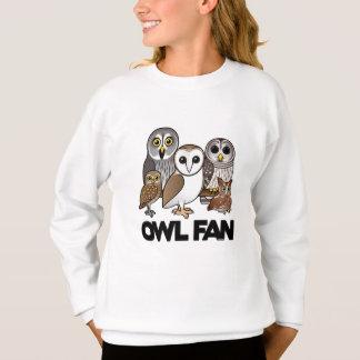 Sweatshirt Fan de hibou