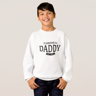 Sweatshirt Favorisé au papa - cadeau pour le nouvel est de