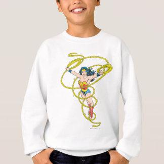 Sweatshirt Femme de merveille dans le lasso