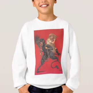 Sweatshirt Fille de kidnapping de Krampus