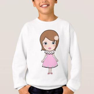 Sweatshirt Fille de poupée de cheveux courts