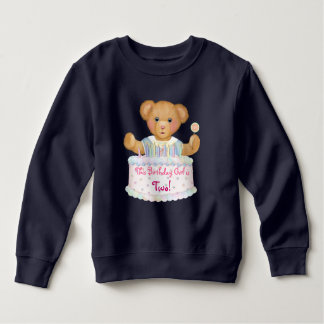 Sweatshirt Fille d'ours d'anniversaire - deuxième