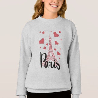 Sweatshirt Fille Paris