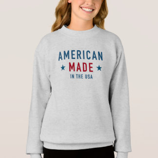 Sweatshirt Fille USA