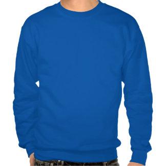 Sweatshirt-Fils bleus de base de Sonnerie-MI