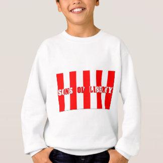 Sweatshirt fils de chemise de lumière de liberté